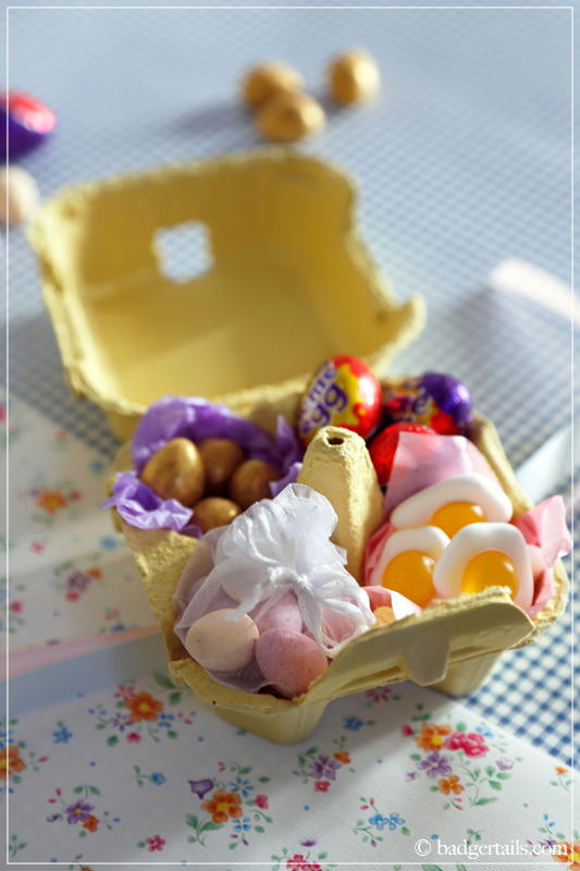 Easter gift ideas sweetie filled egg box badgertails sweetie filled egg box easter gift negle Gallery