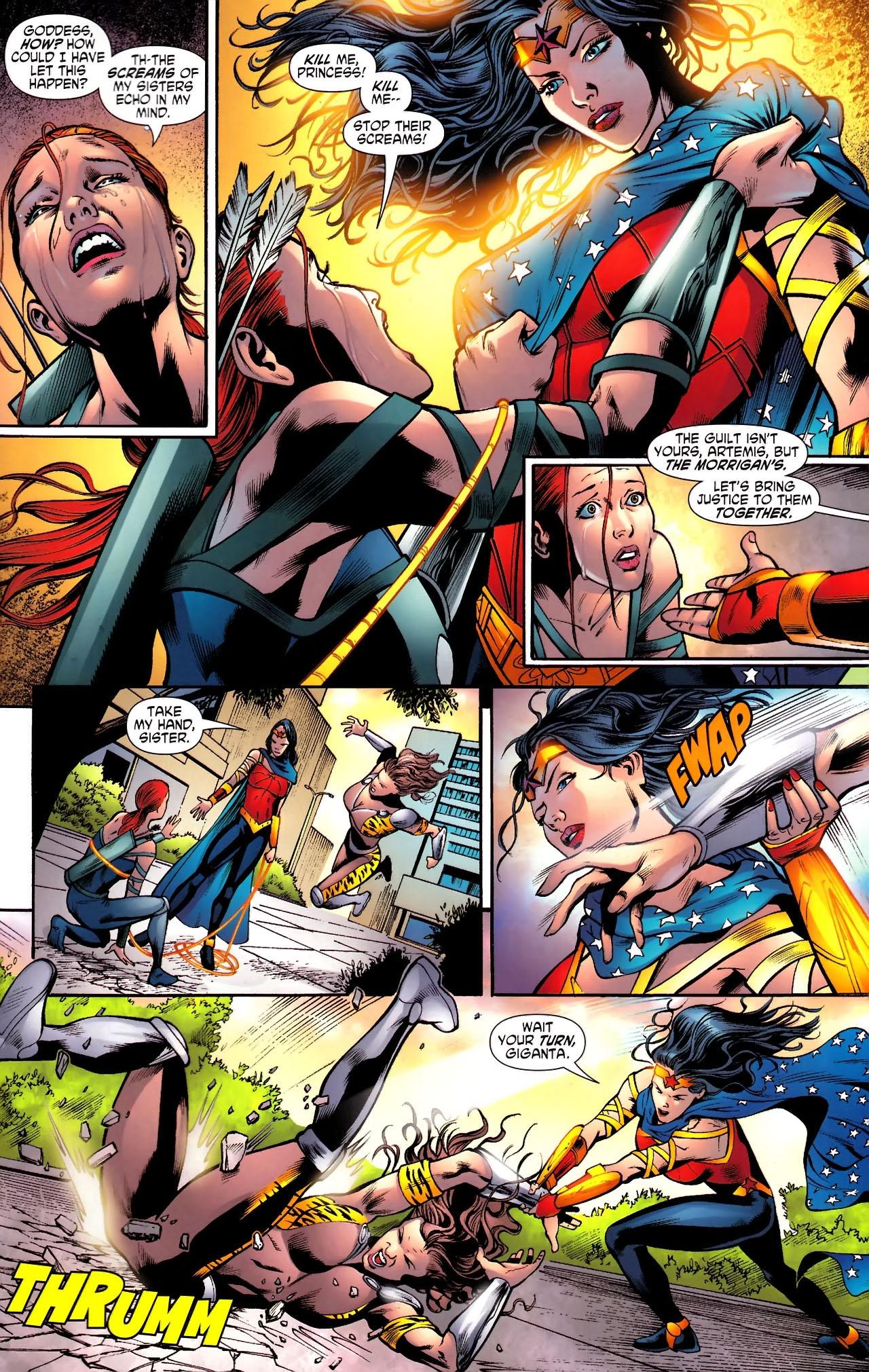 Read online Wonder Woman (2006) comic -  Issue #610 - 20