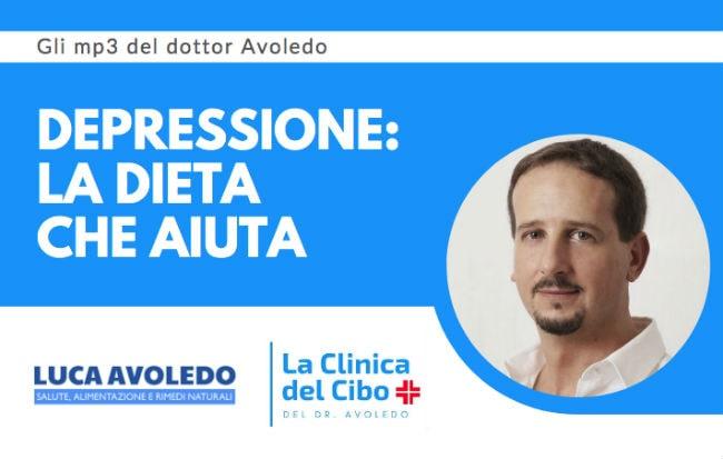 Il dottor Avoledo e la dieta anti-depressione su Radio 24