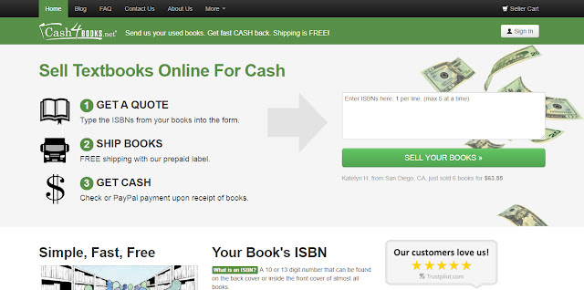 Sell Used Books,Make Money,Cash4Books