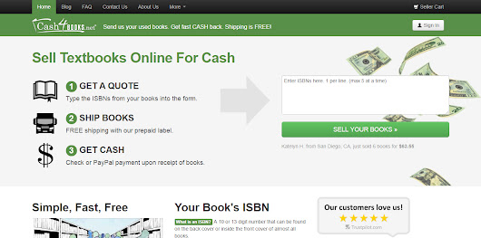 Sell Used Books and Make Money from Cash4Books Tool