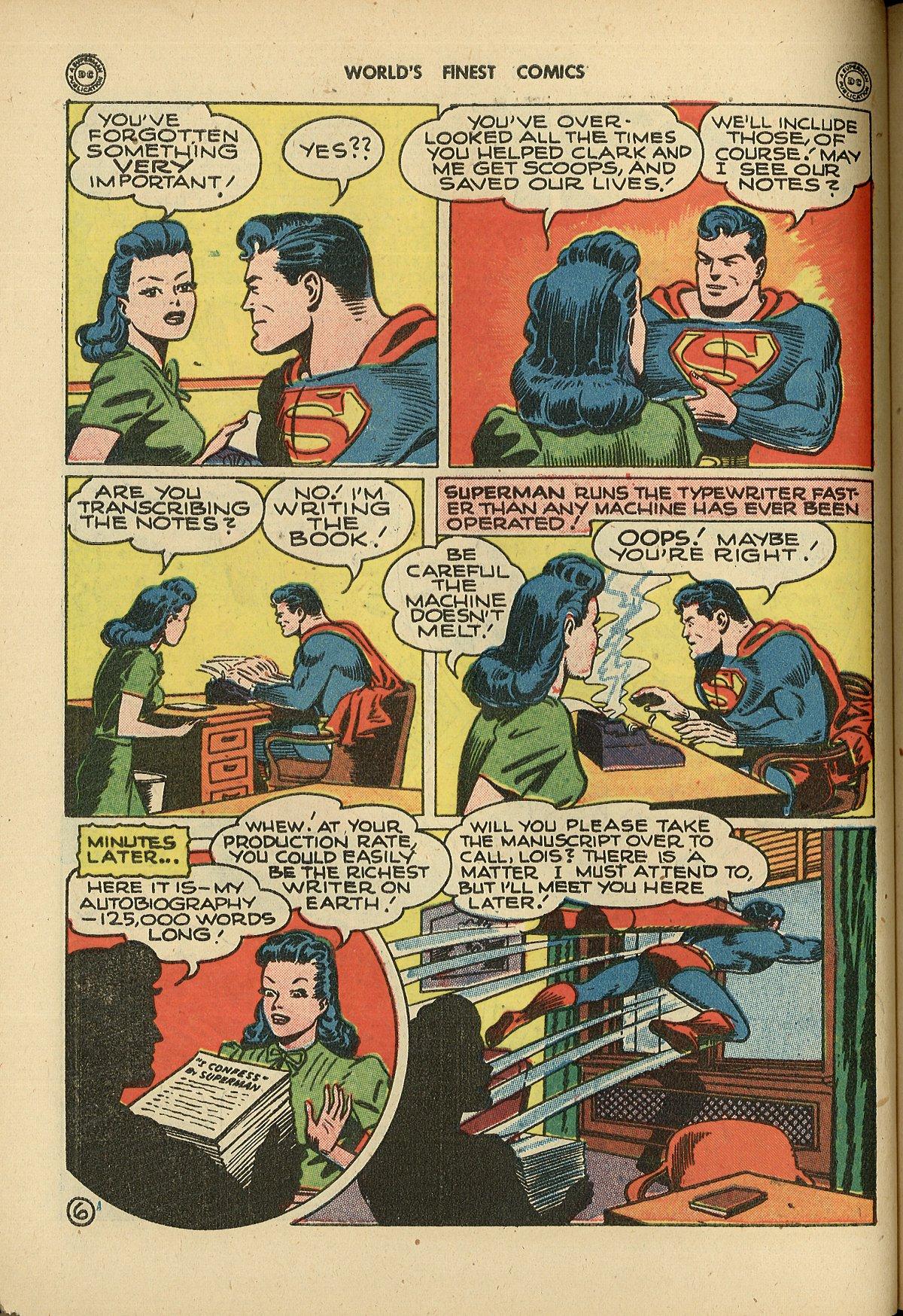 Read online World's Finest Comics comic -  Issue #26 - 8