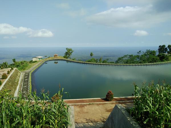 Berlibur ke Embung Nglanggeran di Gunung Kidul Yogyakarta