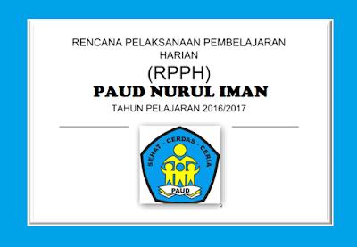 Download Contoh RPPH PAUD Kurilulum 2013