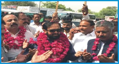 we will never forgive the love of people of NA-64: Pir Farooq Bahawal Haq Shah