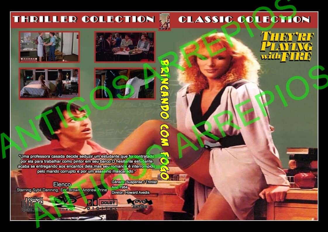 Theyre Playing with Fire (Blu-ray) (1984) - KL Studio