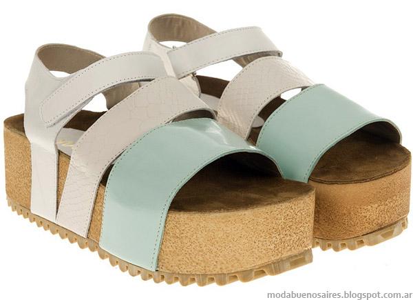 Viamo sandalias moda 2015.