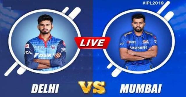 VIVO IPL 2019 Match 34 DC vs MI Live Score and Full Scorecard