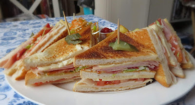 Turkey Club Platter