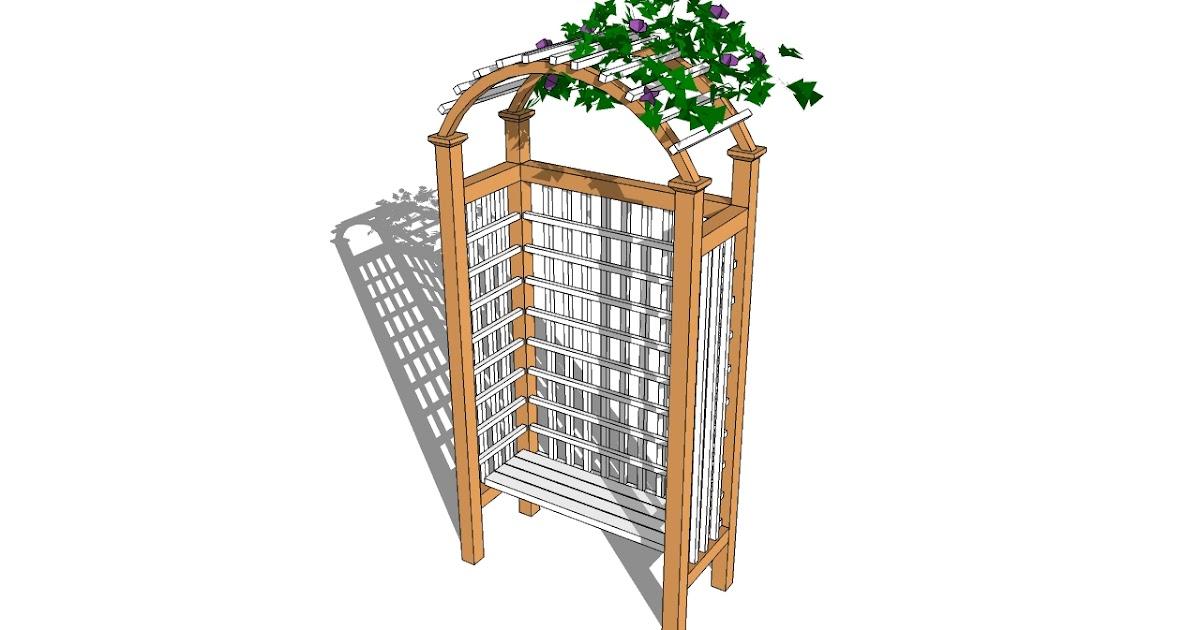Do It Yourself Home Design: How To Build A GAzebo: Free Garden