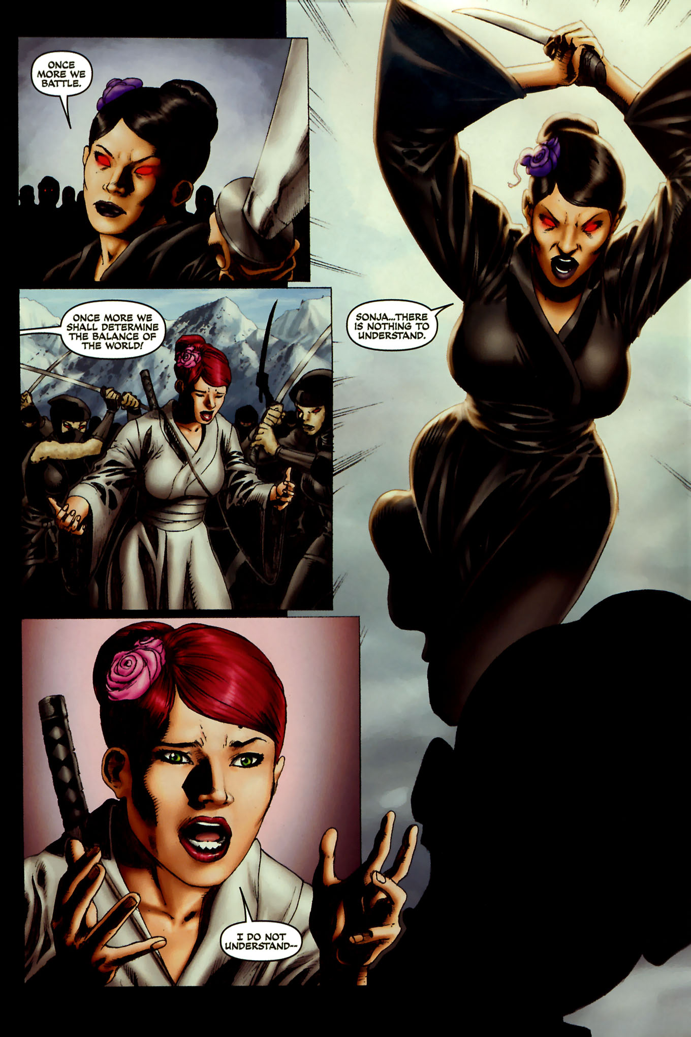 Read online Red Sonja (2005) comic -  Issue #45 - 25