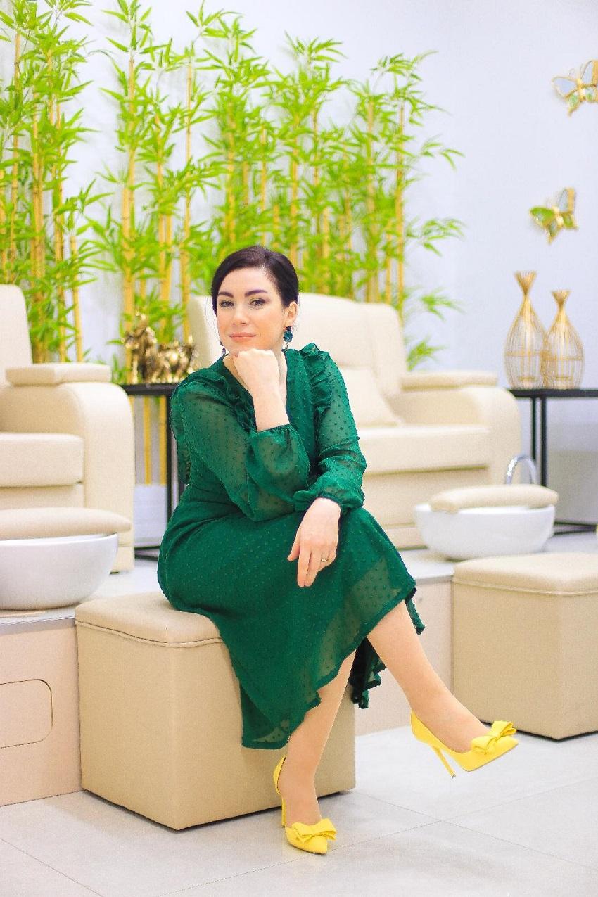 alışveriş-Yeşil Şifon Elbise-moda blogu-fashion blogger-green dress-Shein