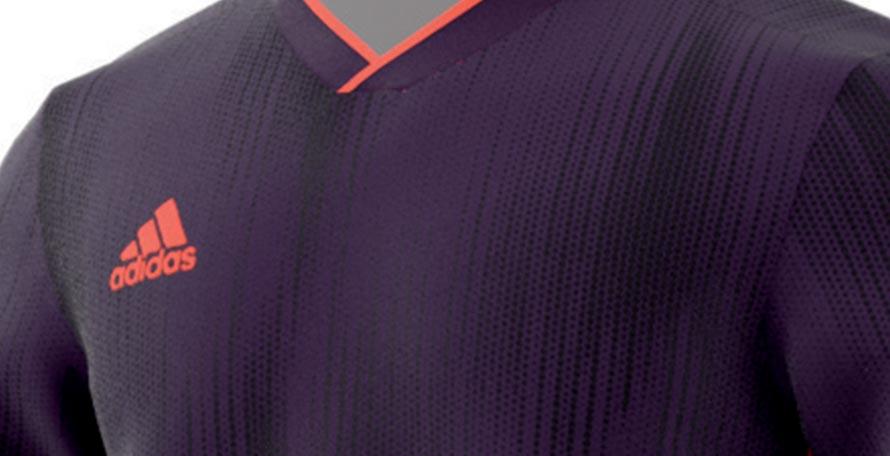 adidas shirt vector