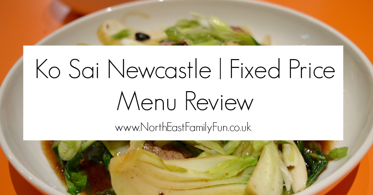 Ko Sai Newcastle - Fixed Price Lunch Menu | A Review