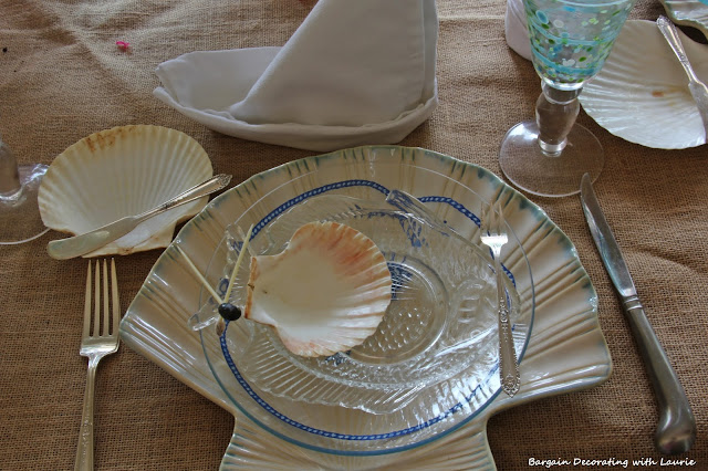 Teen Birthday Dinner-Beach theme-Bargain Decorating with Laurie