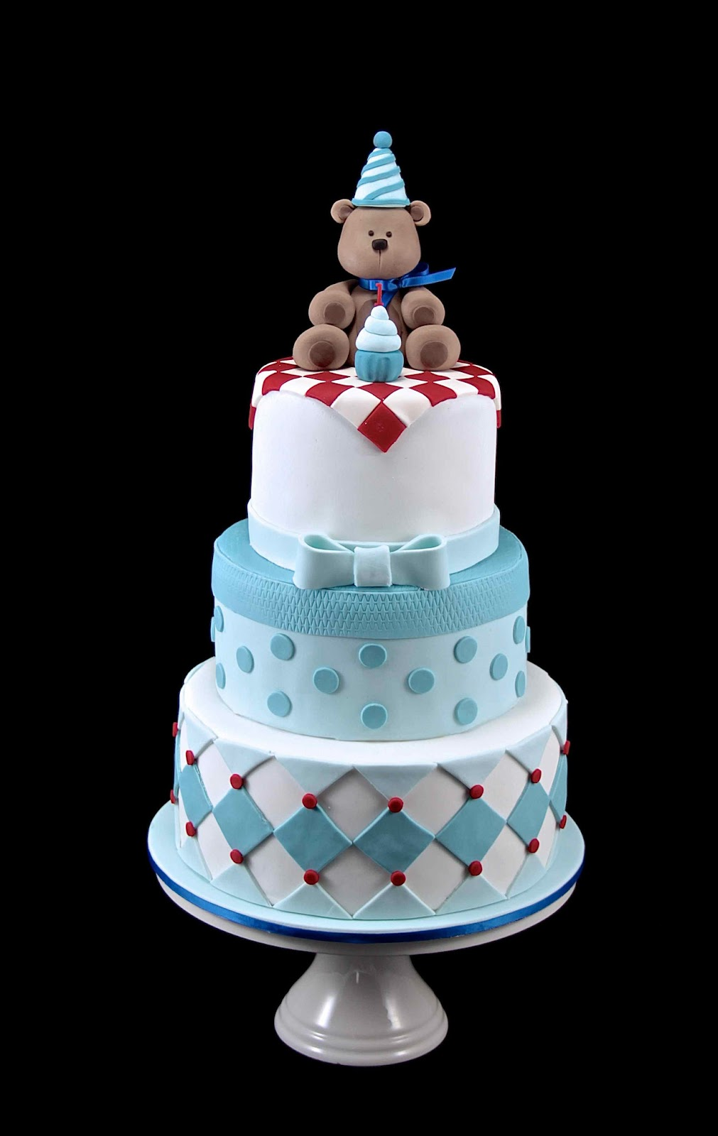 Bakerz Dad Teddy Bear Picnic Cake