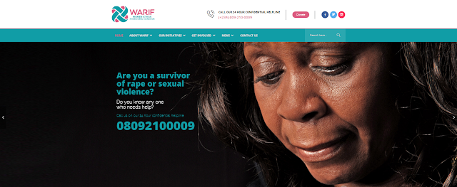 WARIF Launches Website To Support Survivors Of Gender Based Violence