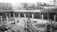 Construcción cocheras Vilapicina