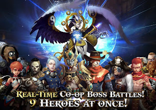 Game Heroes of Skyrealm V1.0.2 MOD Apk ( High Damage )