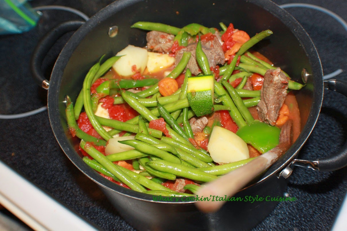 String Bean Beef Stew