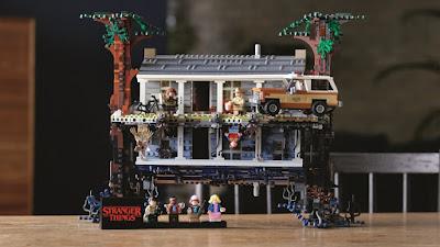 LEGO e Stranger Things Juntaram-se Para Criar um Mega Set Dedicado à Série