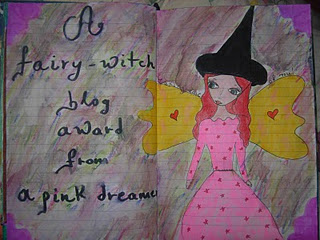 Fairy Witch Blog Award by aPinkDreamer!!