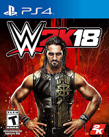 WWE 2K18 Game Cover PS4