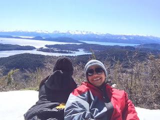No alto do Cerro Lopez em Bariloche