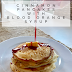 Cinnamon Pancakes with Blood Orange Syrup #FreakyFruitsFriday
