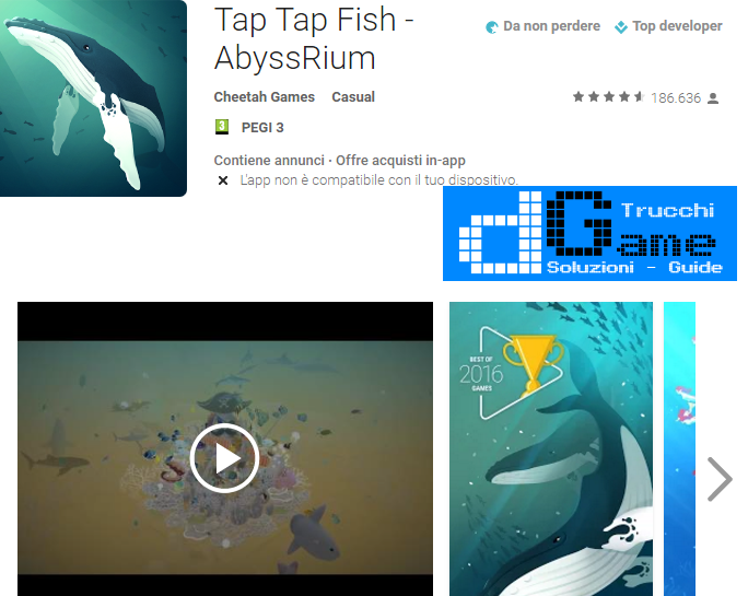 Trucchi Tap Tap Fish - AbyssRium Mod Apk Android v1.3.3