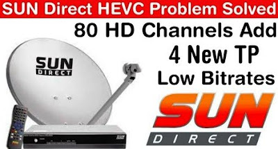 Sun DTH: Sun Direct TV Partners With Harmonic to add 80 New HD channels