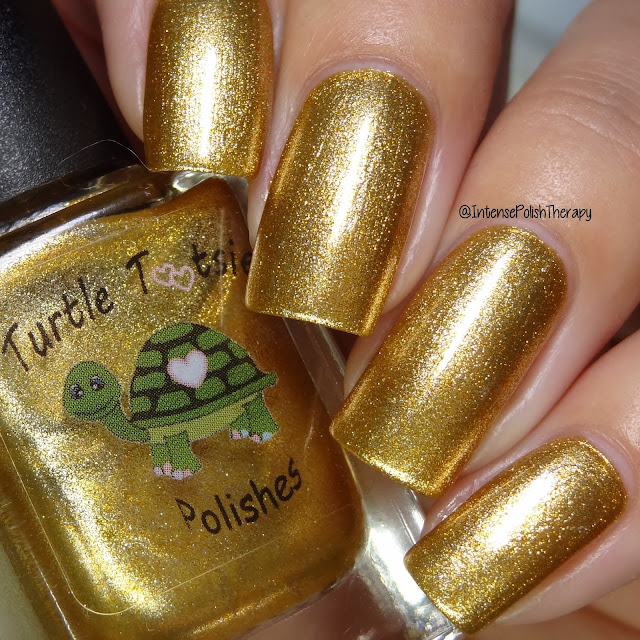 Turtle Tootsie Polish - Blazing Sun