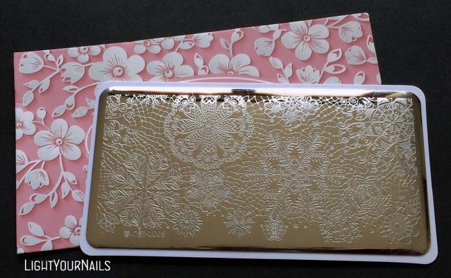 Harunouta 春の歌 L008 stamping plate