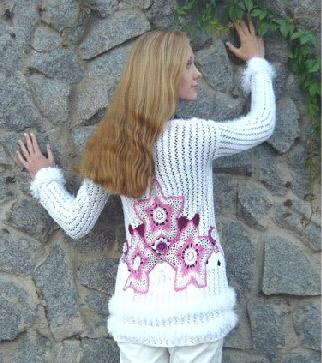 Изысканный жакет -  jacket - Crochet