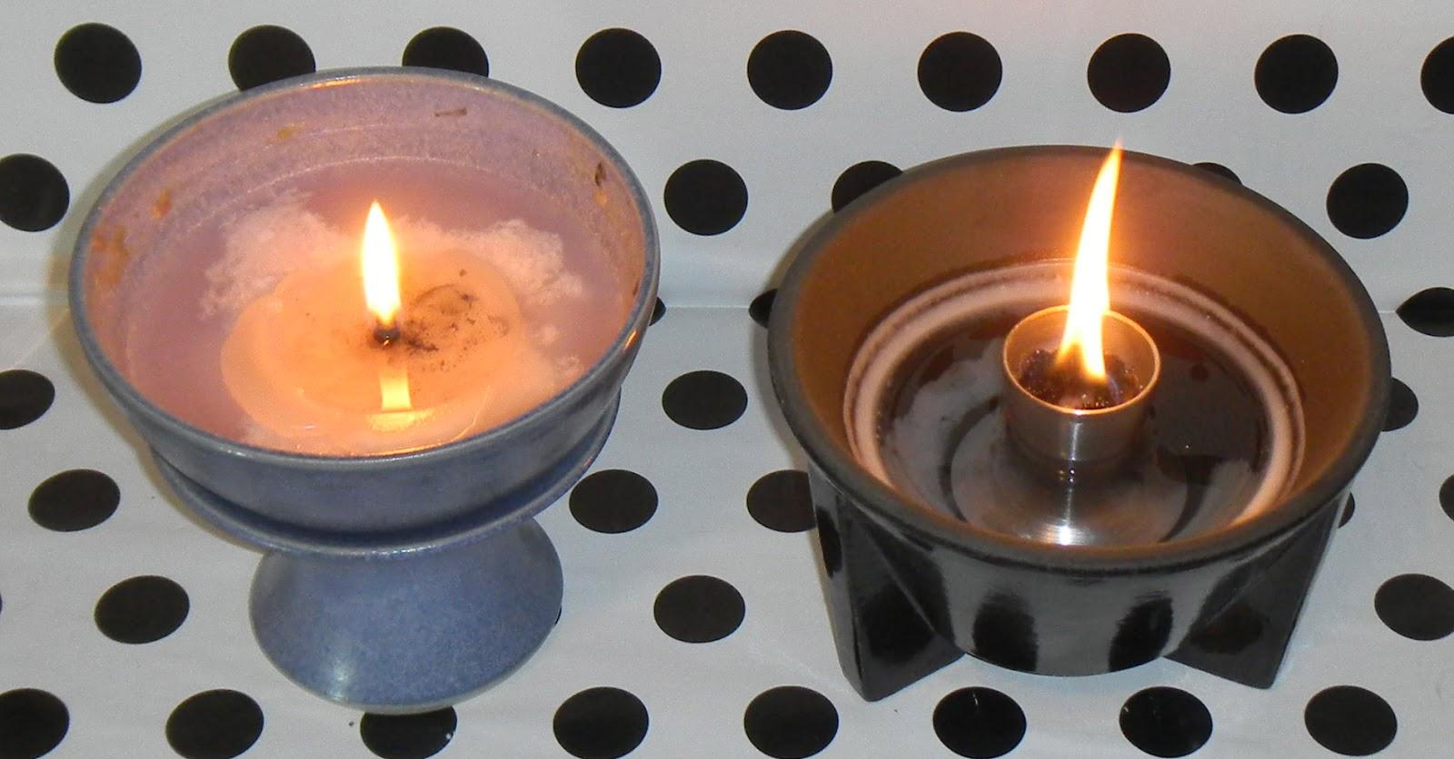 LIFE AND STUFF: Kerzenrestefresser vs. Schmelzfeuer