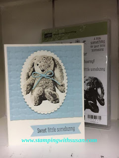Stampin' Up Sweet Little Something Dynamic Basket Weave texture