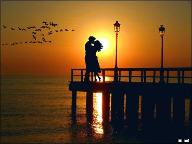 ảnh tình yêu lãng mạn bên Biển