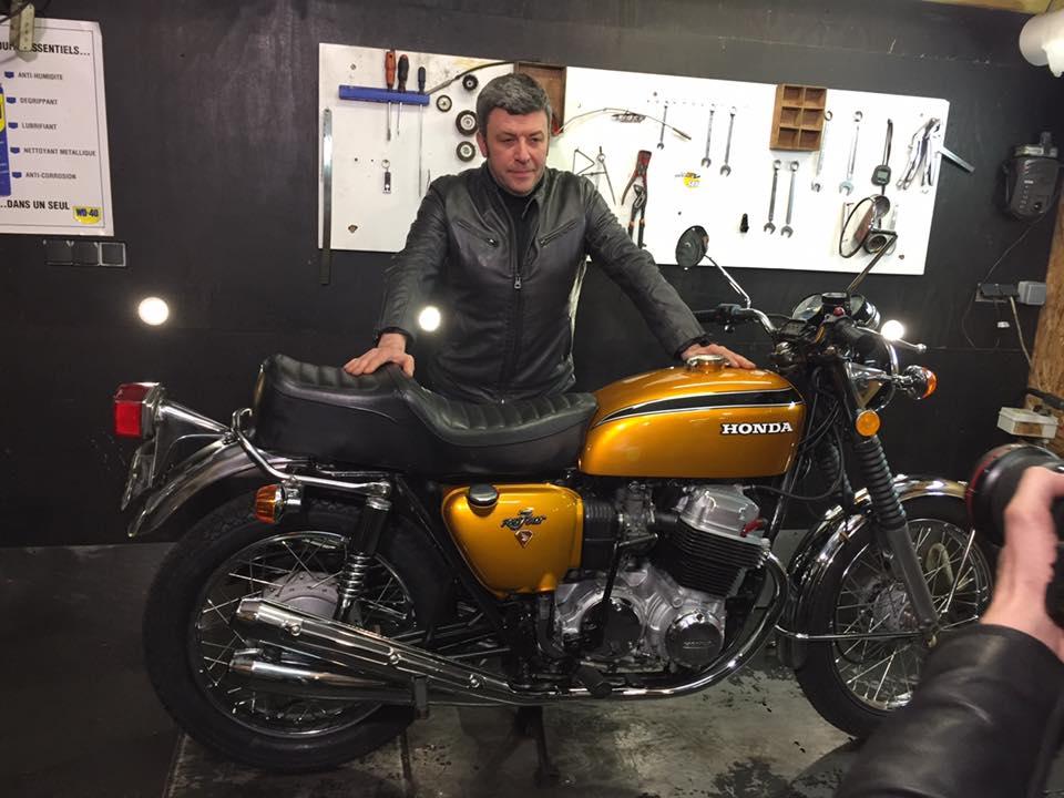 Speedbike dans vintage garage sur rmc d couverte speed for Garage rmc acheres