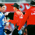 Dhoni fighting with umpire over wrong decision