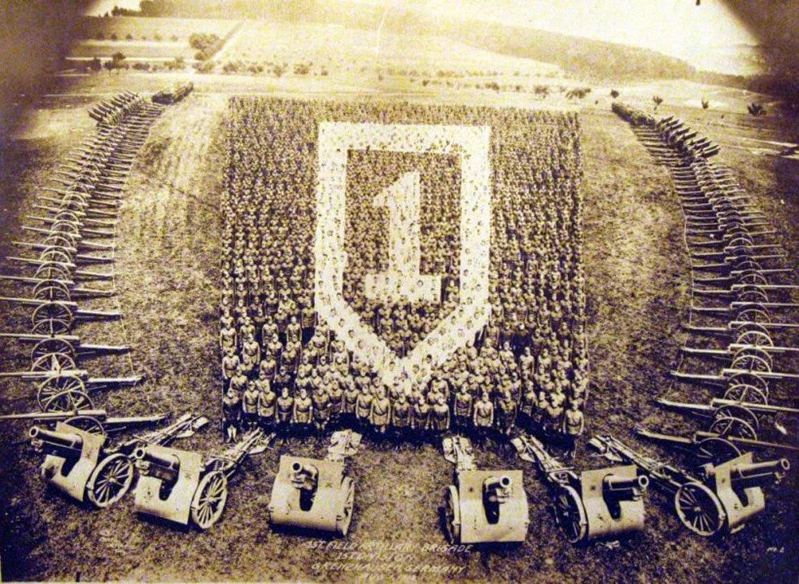 Grenzhausen, Alemania, 1ª Brigada de Artillería de Campo, 1ª División, 1919