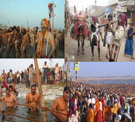 Makar Sankranthi Celebrates and Taking Holy Bath in Holy Rivers in india
