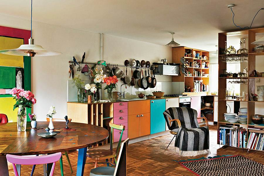 Martino Gamper and Francis Upritchard's Hackney Home