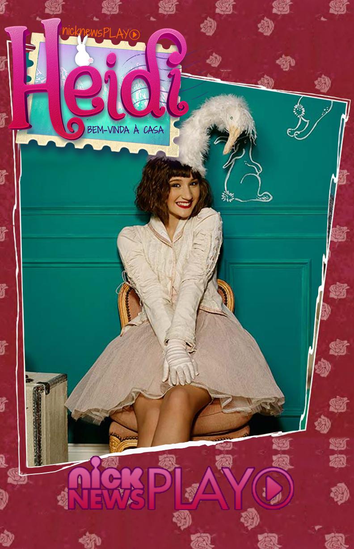Heidi: Bem Vinda à Casa Pôster (FOTO: Reprodução/Nick News)