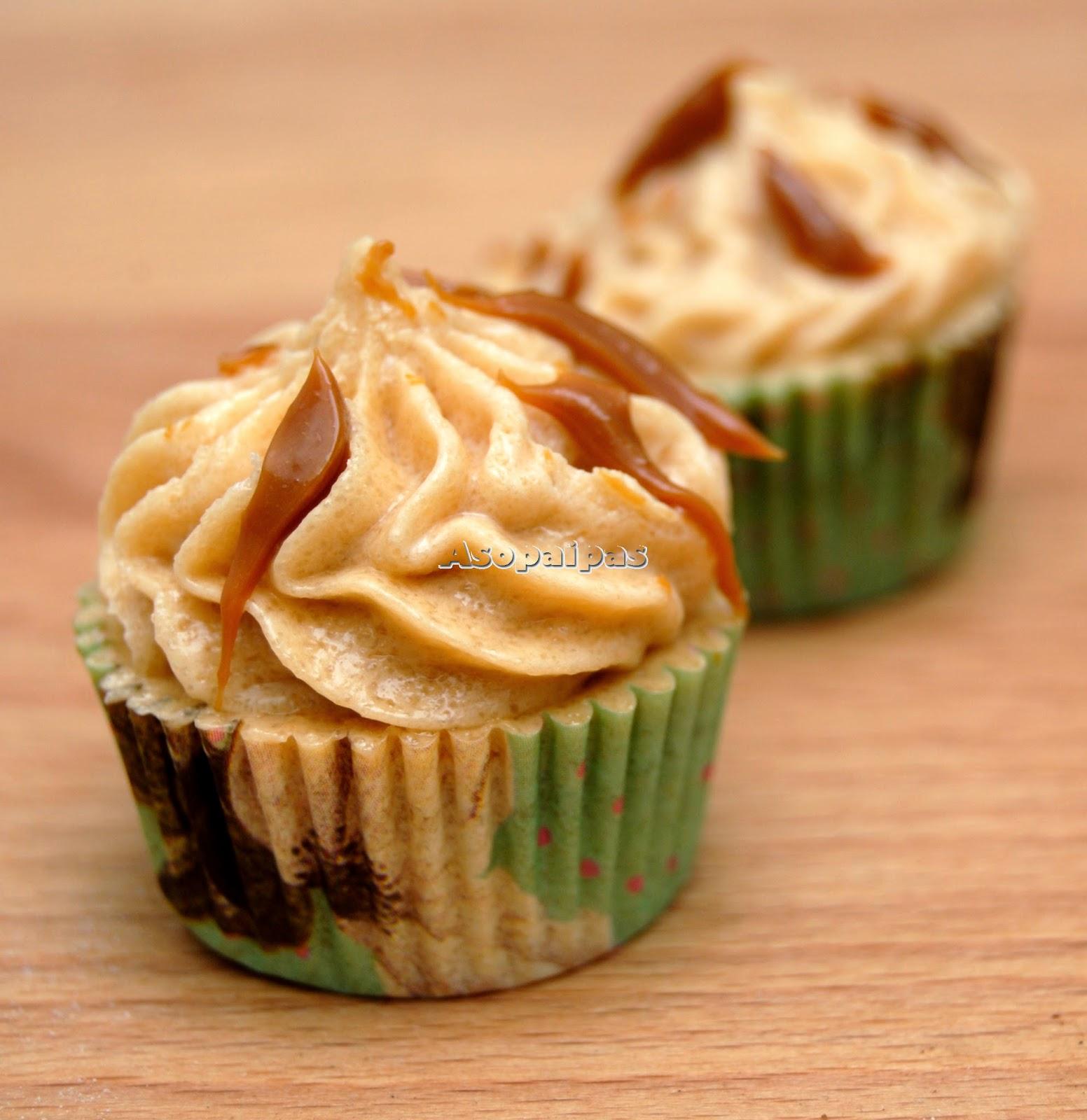 Mini Cupcakes de Dulce de Leche