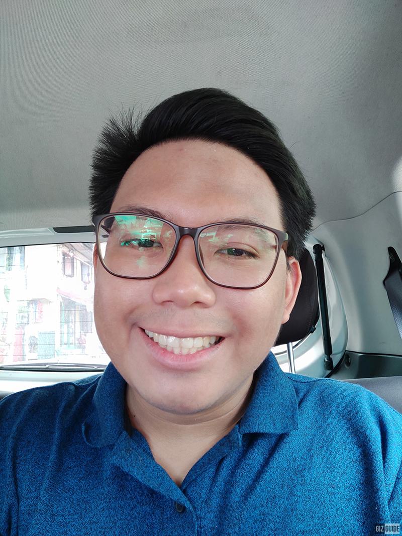 Selfie well-lit