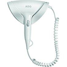 AEG Secador de pelo ht 5686compacto incluye pared, extralargo de cable en espiral, 2niveles de temperatura, Cool Shot