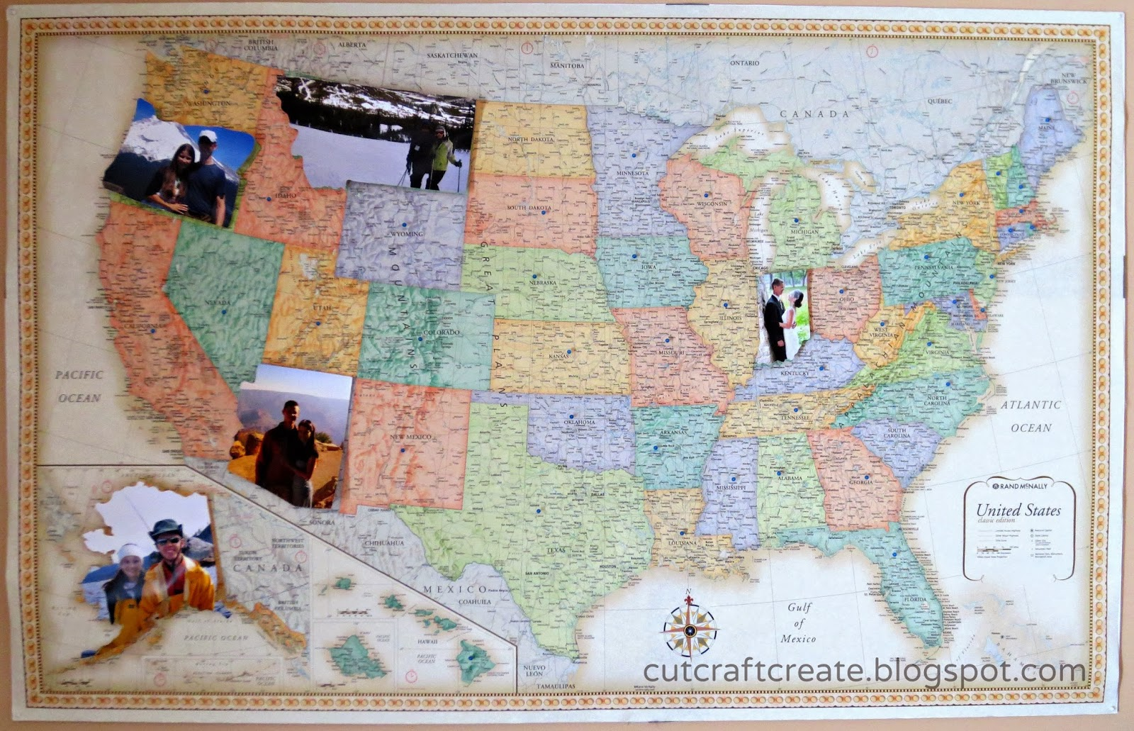 Cut craft create map inspired home decor for House map creator
