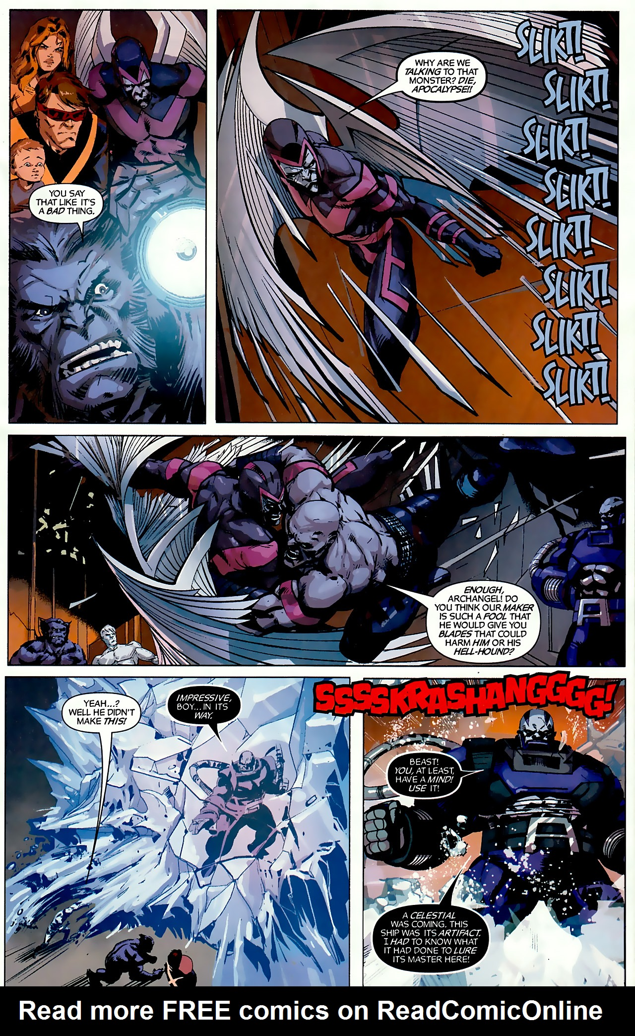 Read online X-Factor Forever comic -  Issue #3 - 10