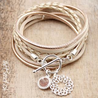 Wickelarmband von theBead Keltischer Knoten