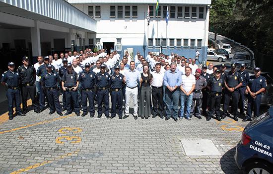 Investimentos na Guarda Civil promovem aumento na segurança em Diadema